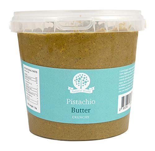 Nutural World - Knusprige Pistazienbutter (1kg) - Great Taste Award Gewinner