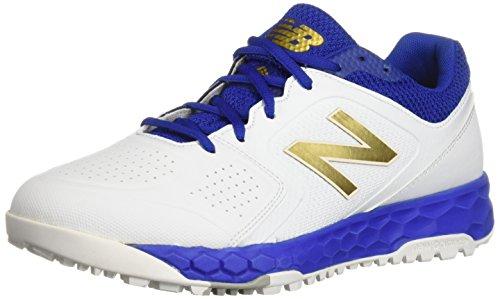New Balance Women's Fresh Foam Velo V1 Turf Softball Shoe, Royal/White, 6.5 M US