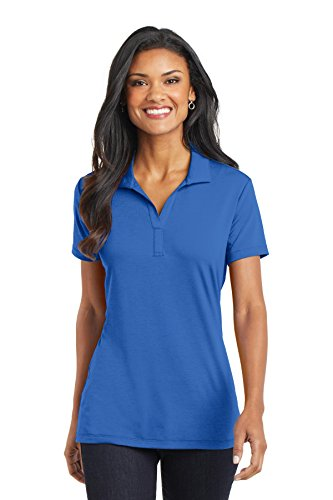 Port Authority Ladies Cotton Touch Performance Polo 4XL Strong Blue