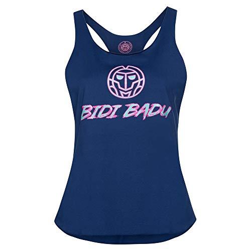 BIDI BADU Heba Basic Logo Tank - darkblue, Größe:L