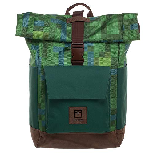 Bioworld - Minecraft Backpack with Laptop Pocket