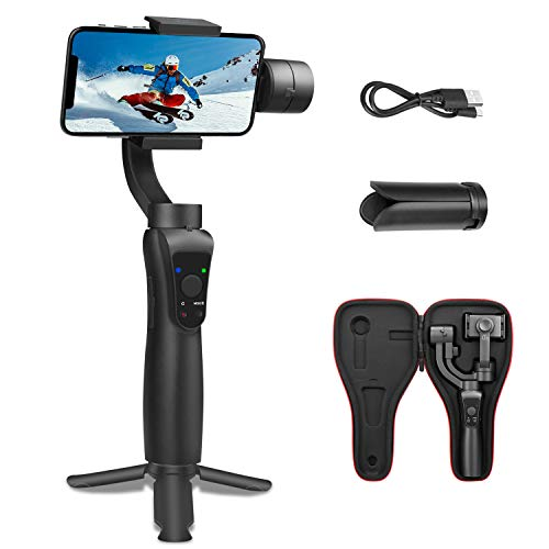 SYOSIN S5 3-Axes Gimbal pour Smartphone et GoPro, Stabilisateur...