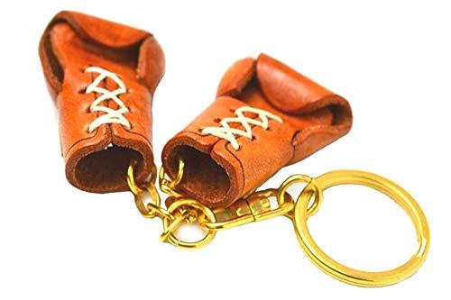 Vanca Craft 56891 Schlüsselanhänger, Boxhandschuhe, Leder, hergestellt in Japan
