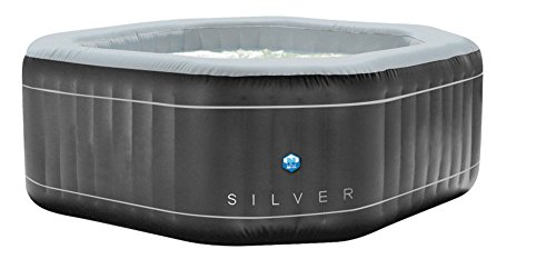 NETSPA Hinchable Silver 5 Plazas Poolstar SP-SLV155C
