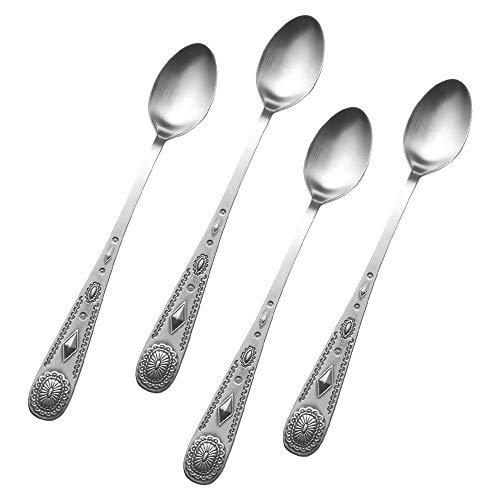 Wallace Taos 18/10 Stainless 7 1/2' Iced Beverage Spoon (Set of Four)