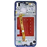 Pantallas LCD para teléfonos móviles 5.84 '' LCD con el Marco/Fit for Huawei P20 Lite Nova LCD 3e Pantalla táctil de la Asamblea digitalizador ANE ANE-LX1-LX3 (Color : Blue with Frame)