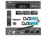 Edision OS NINO PRO S2X + T2/C set-top box TV Ethernet (RJ-45), Satellite, Terrestre, WLAN Full HD Grigio