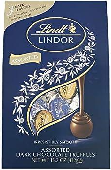 Lindt Lindor Assorted Dark Chocolate Truffles (15.2 oz. Bag)