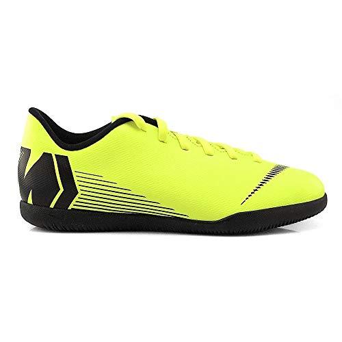 Nike Jr Vapor 12 Club GS IC, Botas de fútbol Unisex Adulto, Amarillo, 38.5 EU