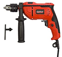 KHADIJA 650WATT 13MM Power Impact Reverse Forward Rotation Drill Machine with Speed Regulator,KHADIJA,13RE-01