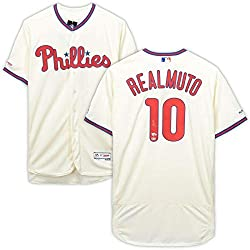 Autographed JT Realmuto Phillies Jersey