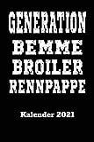 DDR Kalender 2021 Generation Bemme Broiler Rennpappe: DIN A5 Wochen Kalender 2021 für den DDR Fan . Jeweils 1 Woche auf zwei Seiten und Platz für ... Als...