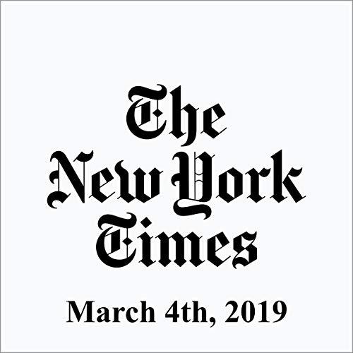 March 4, 2019 copertina