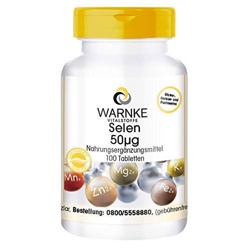 Selenio 50 mcg - 100 compresse - Antiossidante