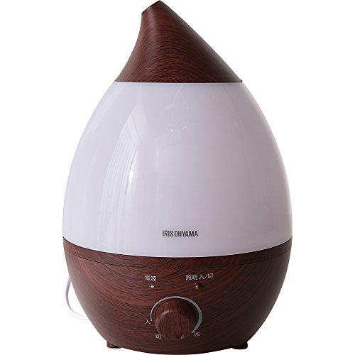 アイリスオーヤマ 超音波加湿器 2.8L 木目 ダークブラウン PH-U28-MD