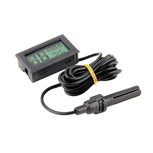 Vektenxi Mini Digital LCD Thermometer Hygrometer Luftfeuchtigkeit Temperatur Meter Indoor Bequem und praktisch