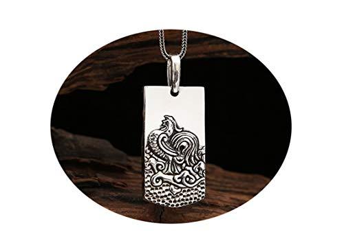 Anyeda Halskette Tattoo Halskette Herren Jing Jang Halskette Sternzeichen Halskette