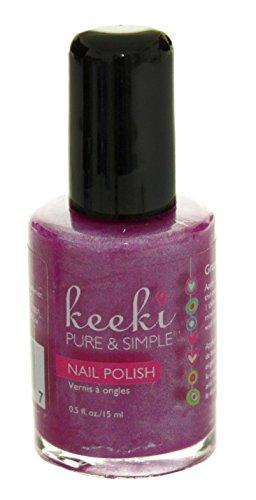 Keeki Pure & Simple Nail Polish, Grape Soda.5 Fluid Ounce