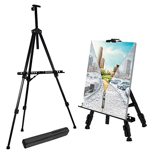 T-SIGN Reinforced and Adjustable Tripod Artist Easel