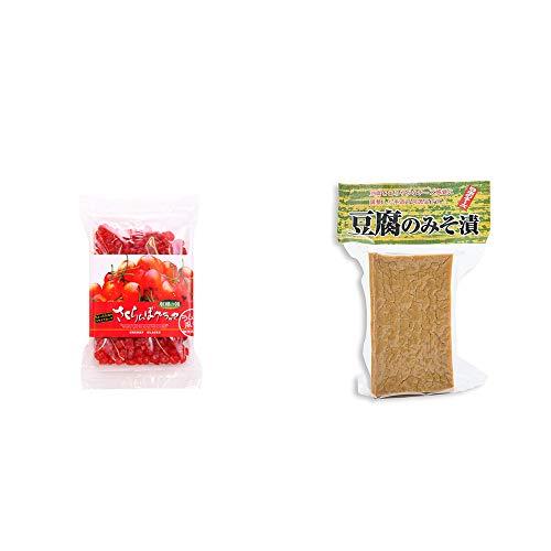 [2点セット] 収穫の朝 さくらんぼグラッセ ラム酒風味(180g)・日本のチーズ 豆腐のみそ漬(1個入)