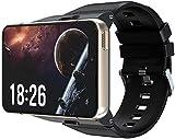 4G Smart Watch Android 9.0 Sistema Operativo Orologio Da Polso Del Telefono Orologio MTK6761 4 GB+64 GB Cardiofrequenzimetro Bluetooth Smart Watch per Android IOS (B)
