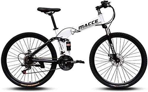 TOYSSKYR Mountainbikes Mountain Trail Bike, 26/24 Zoll leichte Klapp Mountainbike, kleines tragbares Rennrad for Erwachsene Studenten für enwachsene Jugendfahrrad