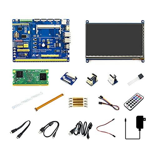 NUOYI Raspberry Pi Compute Module 3+ 32GB Development Kit Type B, with 7inch HDMI LCD