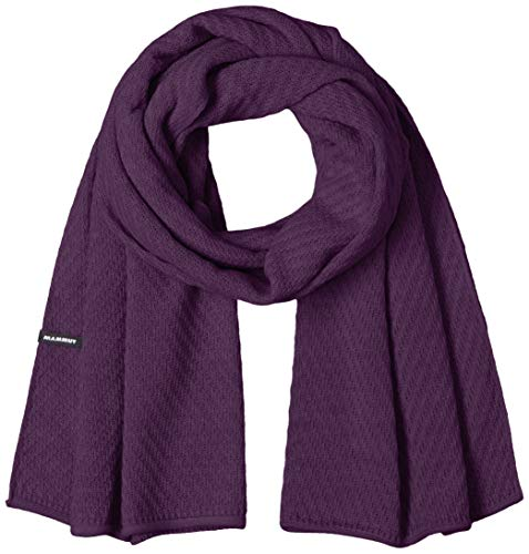 Mammut Roseg SCARF Écharpe Femme Blackberry FR: Taille Unique (Taille Fabricant: One Size)