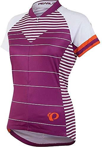 PEARL IZUMI Women's Ride Select LTD Short Sleeve Jersey, Moto Purple Wine, Medium