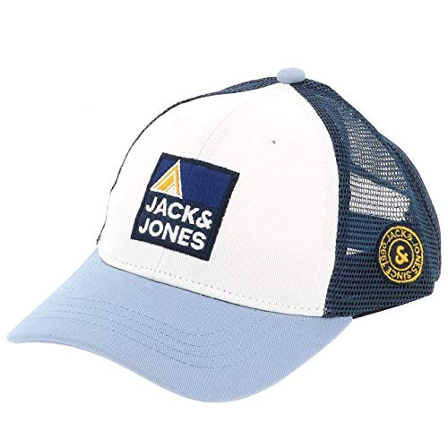 JACK & JONES JACEXPLORE TRUCKER CAP JR, blau(ashleyblue), Gr. S/M