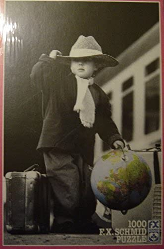 Kim Anderson The Peu World voyageler 1000 Piece Jigsaw Puzzle by F.X. Schmid