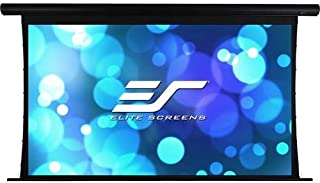 Elite Screens Yard Master Tension Series Projector Screen, 100-inch 16:9, Outdoor/Indoor Electric Motorized Front/Rear WraithVeil Dual Projection Movie Screen, OMS100HT-ELECTRODUAL