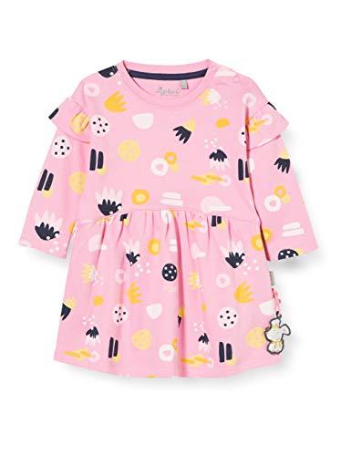 Sigikid Dziewczęca sukienka dziecięca, różowy/wzór, 74 cm