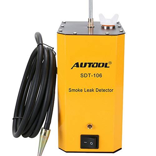 AUTOOL SDT-106 Détecteur de fuite de carburant automobile - Testeur de fuite de tuyau de voiture - Détecteur de fuite EVAP - Outils de diagnostic de fuite pour véhicules 12 V, Bateaux et Motos