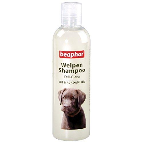 Welpen Shampoo Fell-Glanz | Sensitives Welpenshampoo | Fellpflege für Welpen | Mit Macadamiaöl | pH neutral | 250 ml