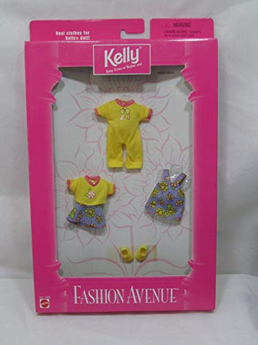 Kelly Doll Fashion Avenue Clothing Outfit 1997 by Mattel (English Manual)