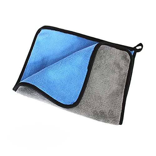 MCYAW Lavado de Coches Toalla de Microfibra Limpieza de automóviles Secado Paño Cuidado de automóvil Paño Detalle Detalle Toalla de Microfibra Microfibra Cloth30x30 / 40 / 60cm