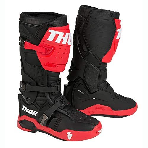 Thor Motocross-Stiefel Radial Rot Gr. 43