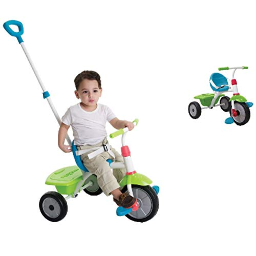 smarTrike Driewieler Fun Bluegreen 2 in 1 (1240100)