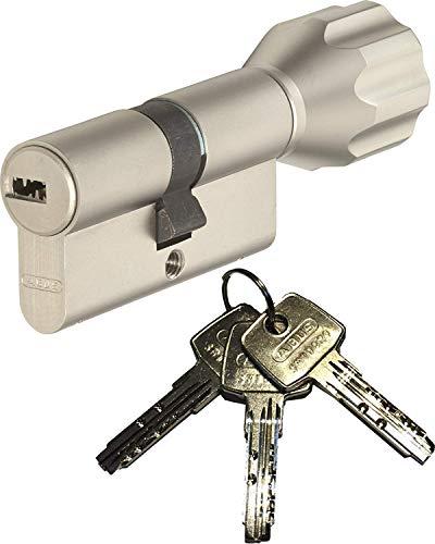 ABUS EC550 Profil-Knaufzylinder Länge Z35/K35mm mit 3 Schlüssel