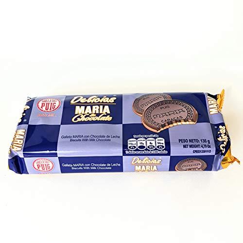 Galleta Maria Chocolate Delicias Venezuela 136gr