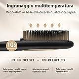 Zoom IMG-1 koticidsin spazzola lisciante per capelli