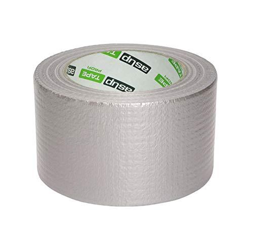 asup Tape Profi - 72 mm x 50m, Silber - Superstarkes Standard-Klebeband für den Profi, das auch bei Kälte haftet