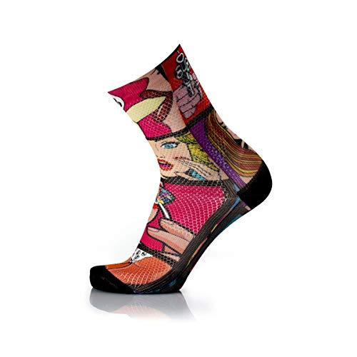 MB Wear Chaussettes Fun-Lollipop-S/M (35-40) Mixte Adulte, Multicolore, FR : M (Taille Fabricant