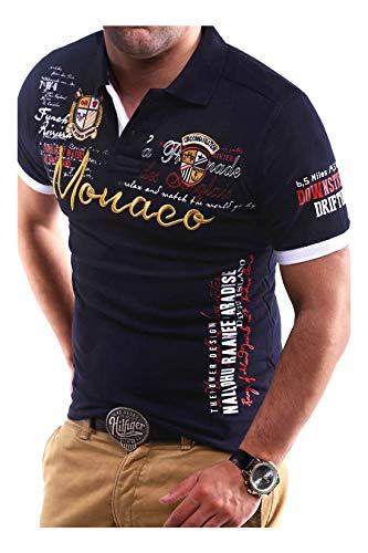 MT Styles Poloshirt Monaco T-Shirt MP-304 [Dunkelblau, XL]