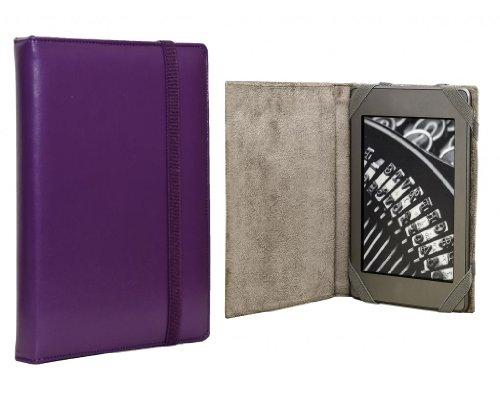 ANVAL Funda para EBOOK Sony PRS T2 Color Morado