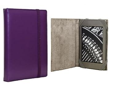 ANVAL Funda para EBOOK BQ Cervantes Touch Light - Color Morado