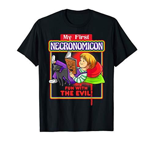 Mein erster Necronomicon-Spaß mit dem Bösen T-Shirt Hexe