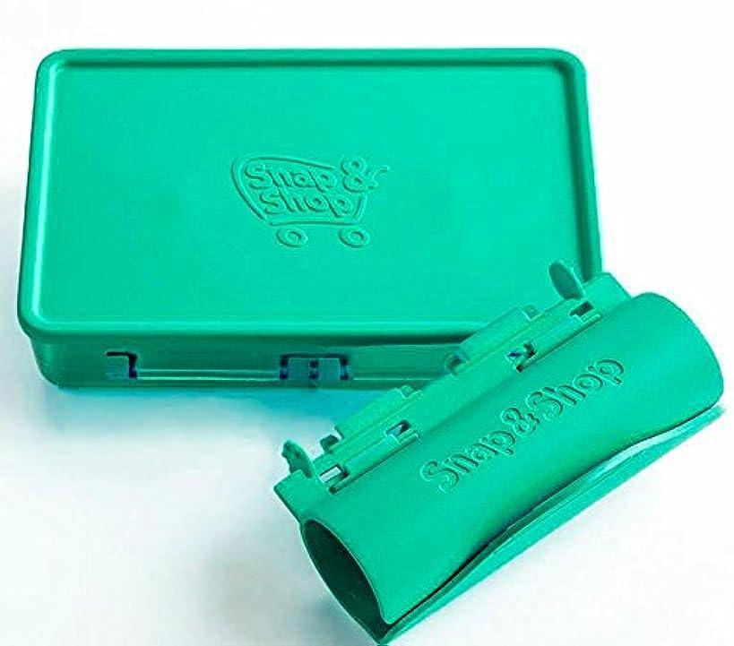 Snap & Shop Shopping Cart Snack Tray (Green)