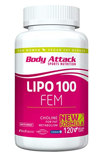 Body Attack, Lipo 100 FEM, 1er Pack (120)